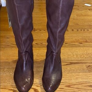 Brown Frye Cindy Slouch boots